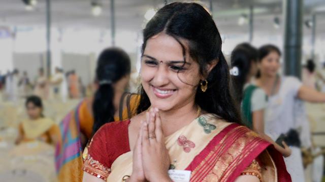 Namaskar or Namaste