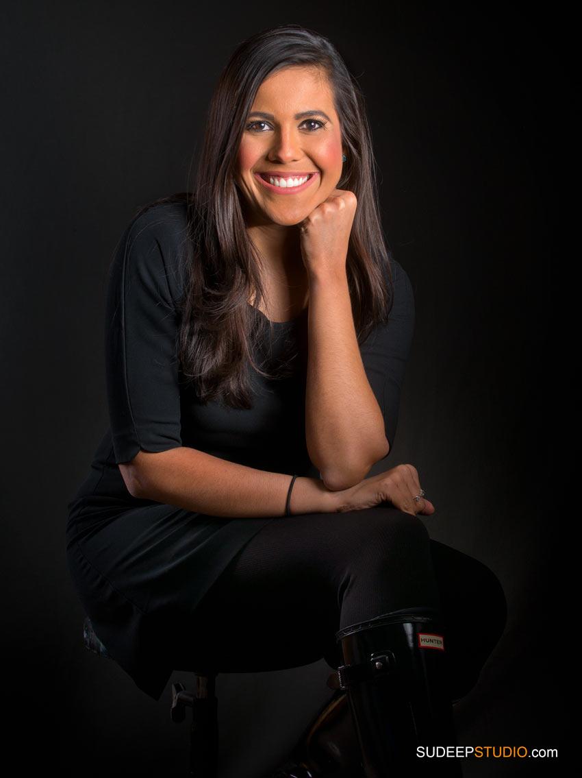 Relaxed Business Portrait Headshots for Business Woman - SudeepStudio.com Ann Arbor Headshot Photographer