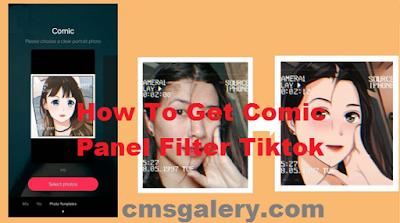 Comic panel filter | How to get Comic panel filter tiktok