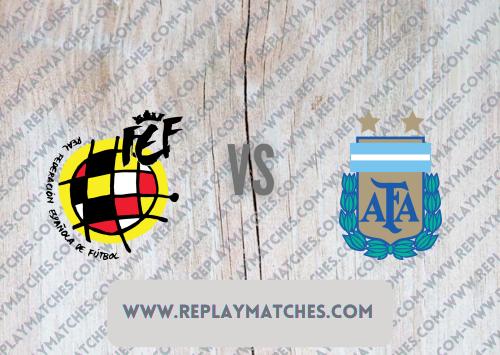 Spain U23 vs Argentina U23 -Highlights 28 July 2021