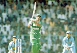 Saeed Anwar 194 - India vs Pakistan 6th Match Pepsi Independence Cup 1997 Highlights