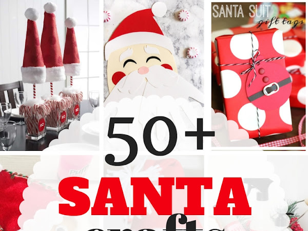 50+ Santa Crafts for Families