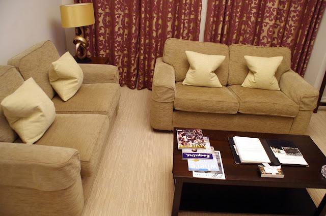 Beaufort House Knightsbridge Apartment Lounge