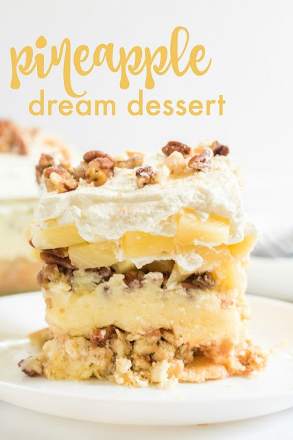 Pineapple Delight Dessert Recipe