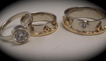 Laura Guptill Jewelry Custom Wedding Bands