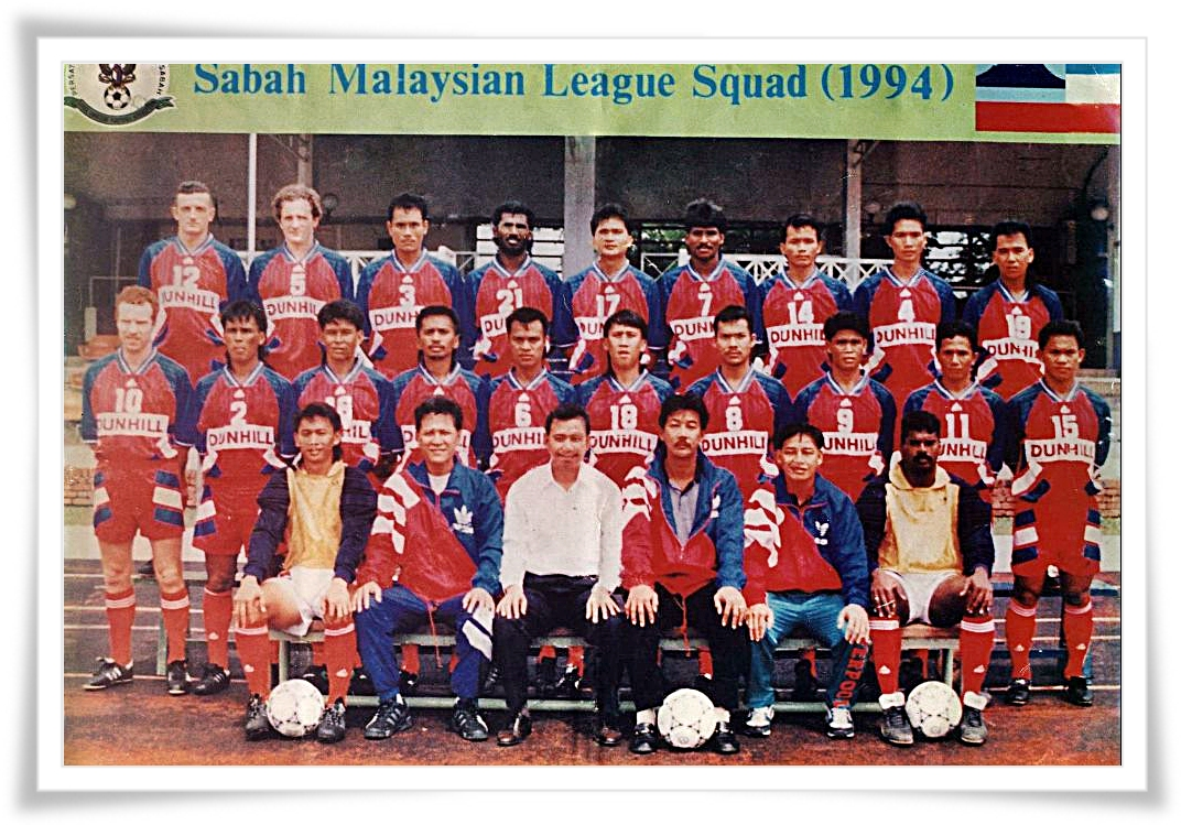 Gambar Nostalgik Sabah FA ObsesBola