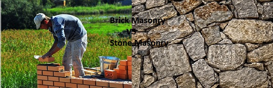 Difference Between Brick Masonry and Stone Masonry