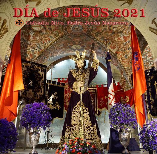 Cartel día de Jesús Nazareno de Baena 2021