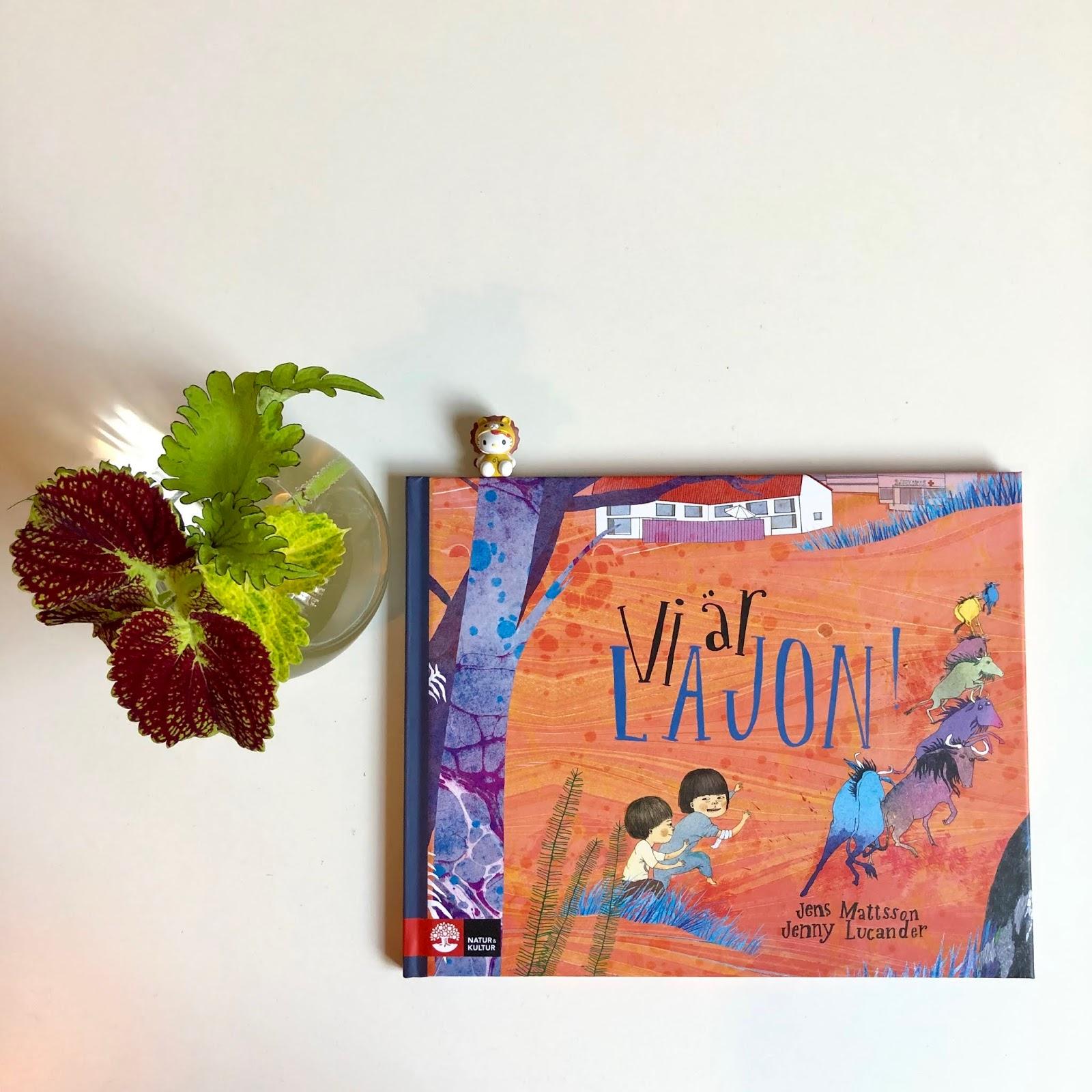 Prickigapaula: Vi är Lajon! Av Jens Mattson & Ill. Jenny