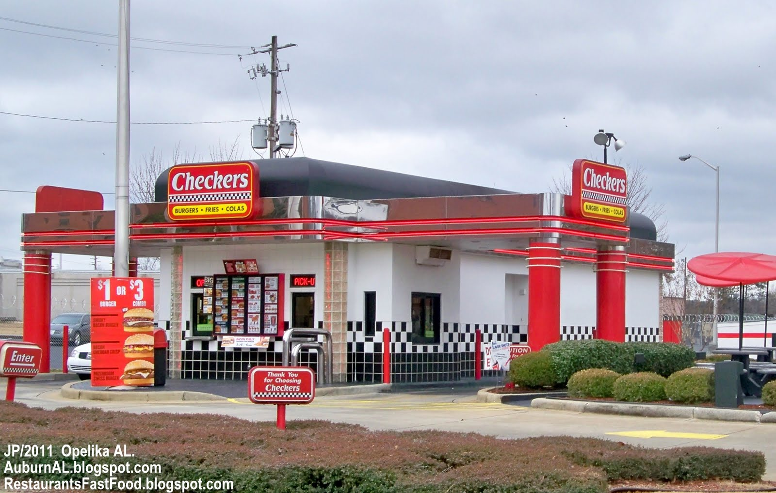 Checkers Fast Food Restaurant