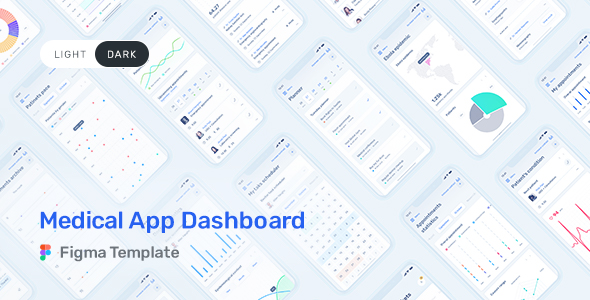 medical app dashboard
