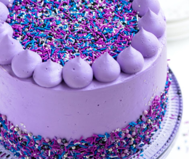 Galaxy Layer Sweet Cake
