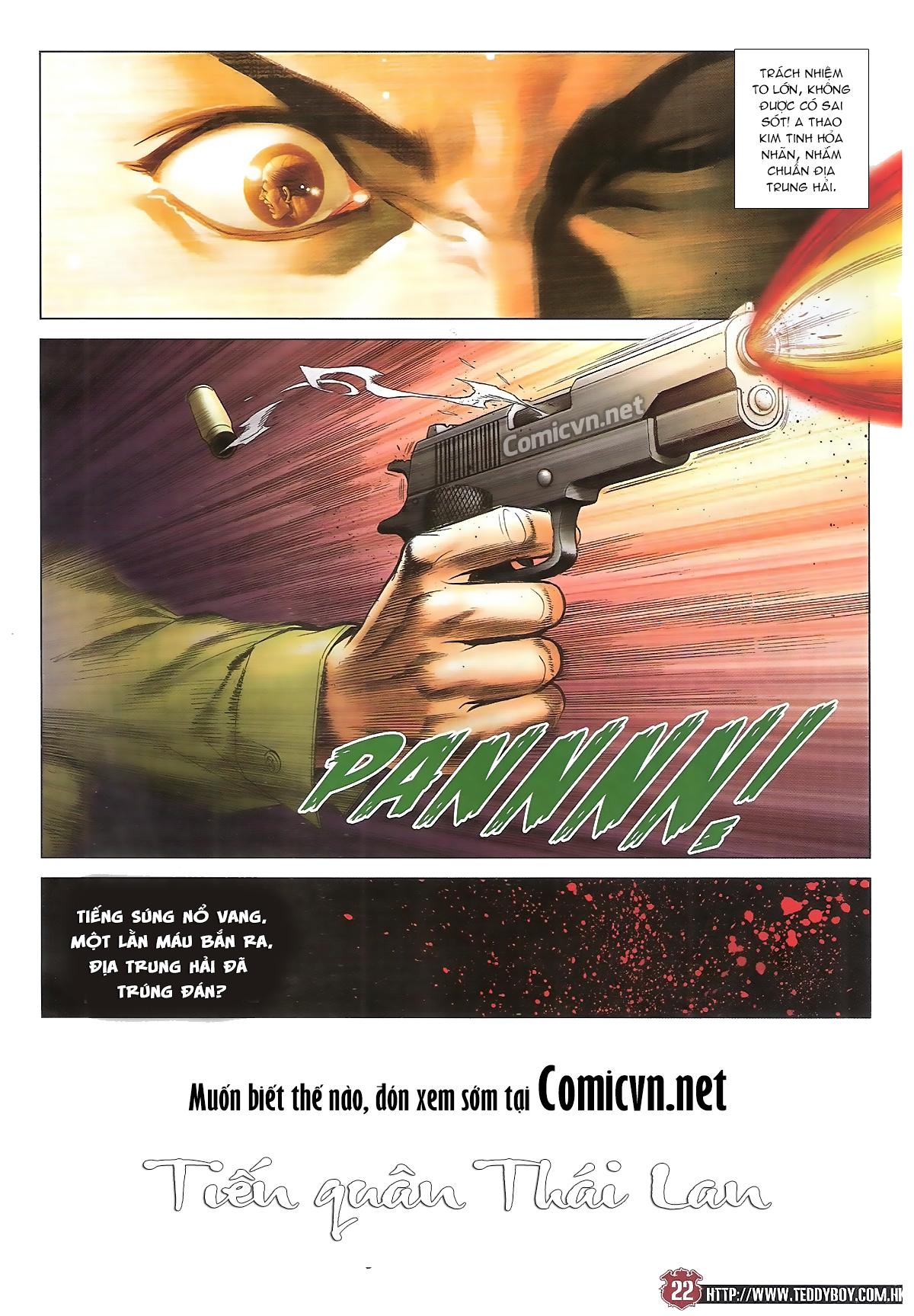 Người Trong Giang Hồ chapter 1741: nổ súng trang 21