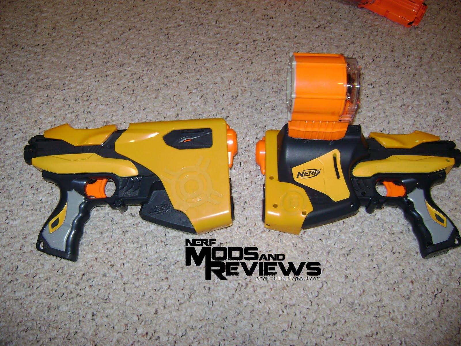 Urban Taggers.: Nerf Mods & Reviews: Nerf Speedload 6 with ...  Urban Taggers.:...