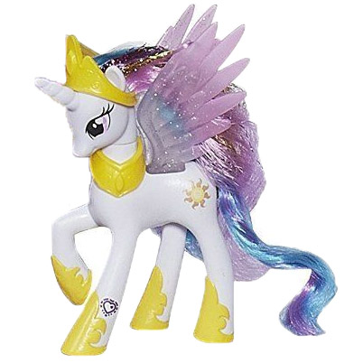 MLP Canterlot Castle Playset Princess Celestia Brushable ...