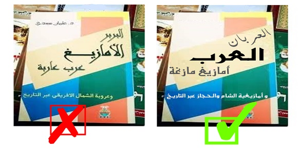 كتاب البربر الامازيغ عرب عاربة عثمان سعدي