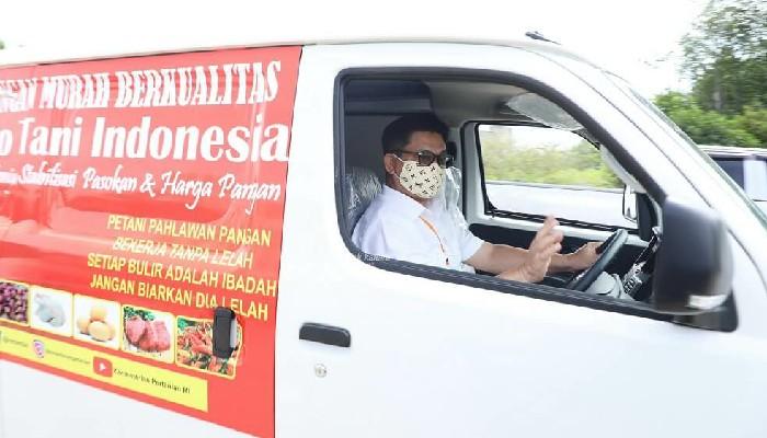 Gubernur Irianto Resmikan Toko Tani, Bantu Pasarkan Hasil Pertanian