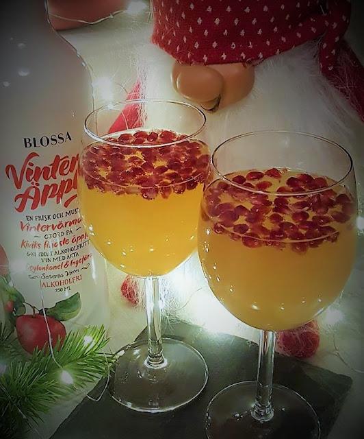 Julig drink med Blossa Vinteräpple