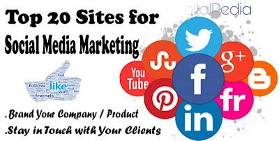 Top 20 Social Media Marketing Platforms