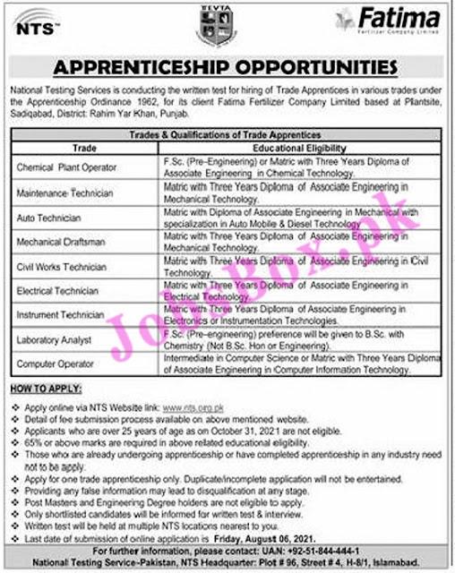 fatima-fertilizer-company-apprenticeship-2021