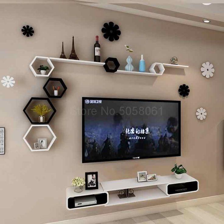 أحدث ديكورات شاشات بلازما على الحائط 2020