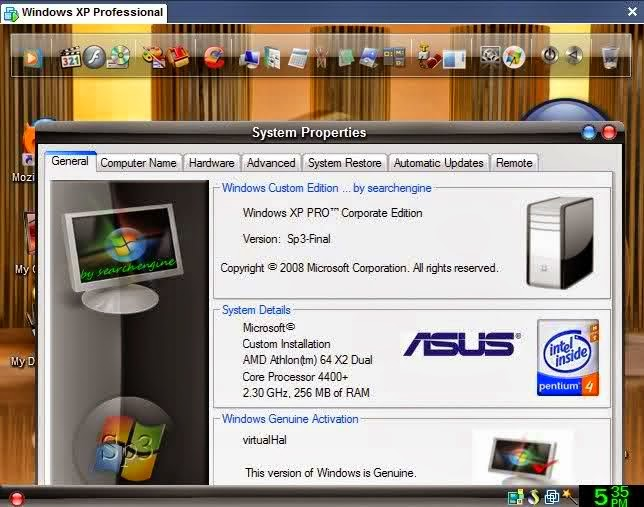 Download Windows XP Pro SP3 Gold Cobra Edition 2014 Full