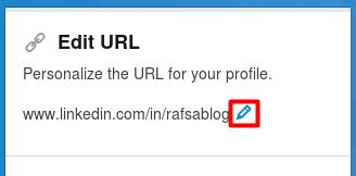 Cara Mengubah Link URL Profil di LinkedIn