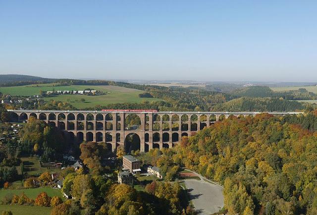 Alemanha: as pontes mais fantásticas! Göltzschtalbrücke