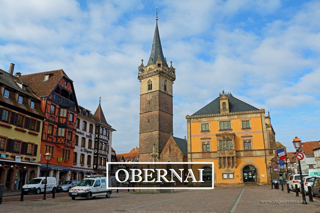 Obernai, una encantadora cuidad de Alsacia