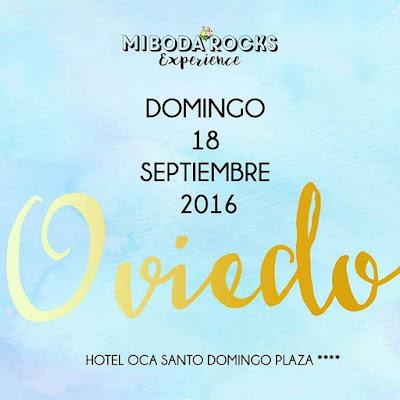 Mi Boda Rocks Experience Asturias, evento nupcial Oviedo septiembre 2016