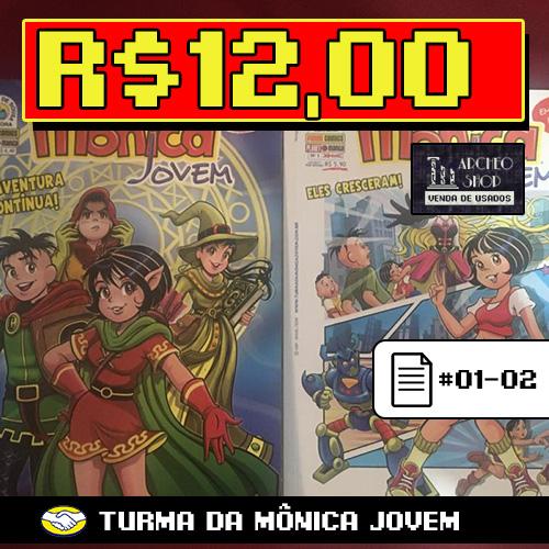 Turma da Mônica Jovem #01-02