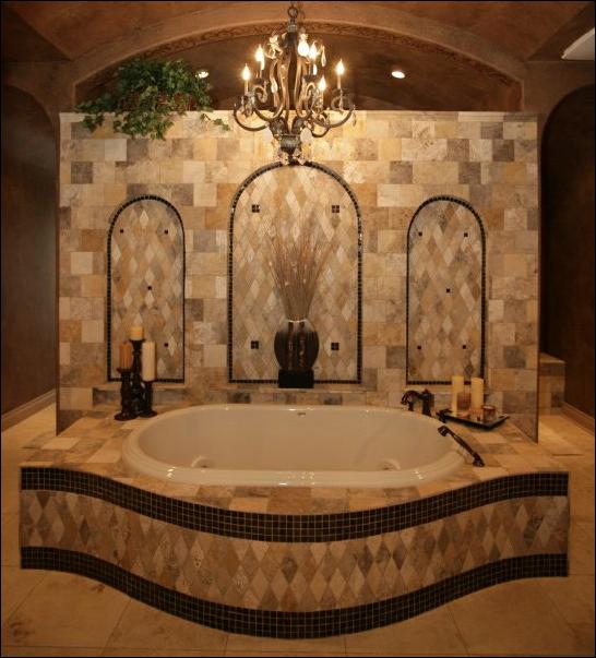 key interiors by shinay tuscan bathroom design ideas. Black Bedroom Furniture Sets. Home Design Ideas
