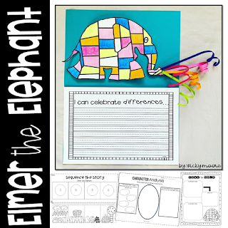 Elmer the Elephant craft and activity pack