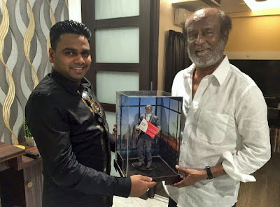 Super Star Rajini Launched Kabali Statue