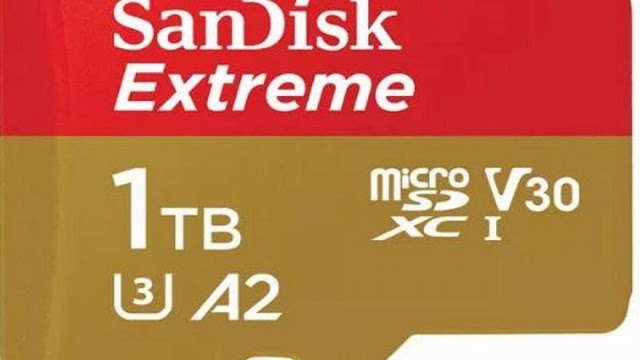 SanDisk starts selling 1TB microSD card for a fortune