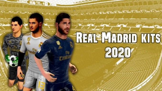 Real Madrid 2019/2020 Kits-Dream League Soccer Kits