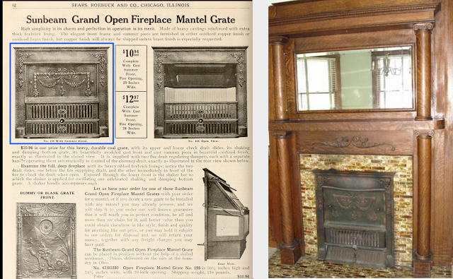 3 Elm St Newton NJ Authenticated Sears No 163 of Reuben Talmage fireplace summer cover 128