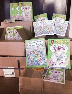 Von Verlagen unabhängig Comics produzieren; Comic-Kurs Sommerakademie Gmünd