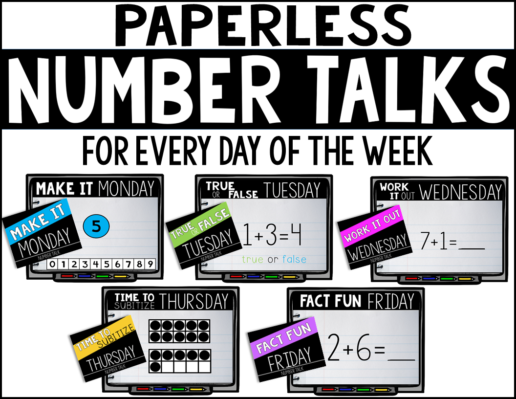 PAPERLESS Number Talks