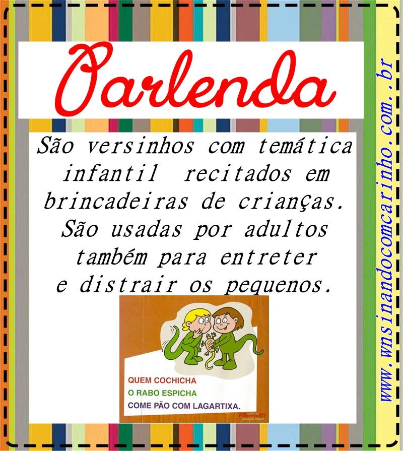 Cartazes Ludicos Dos Generos Textuais Com Suas Definicoes