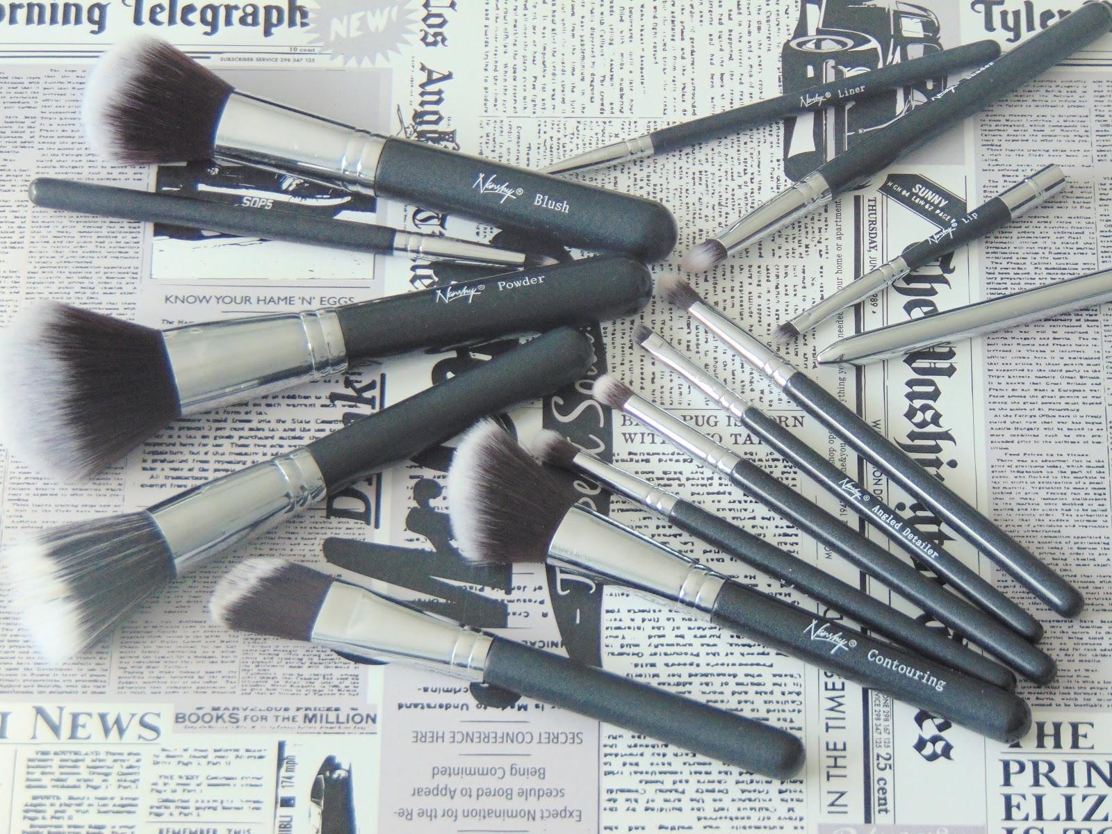 pędzle nanshy brushes onyx black