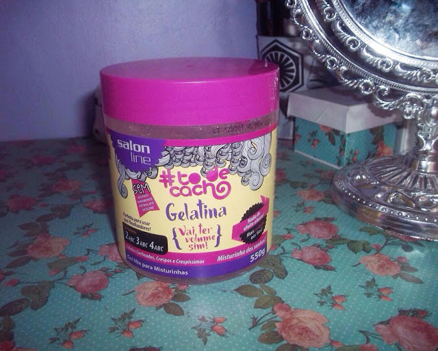 Gelatina Vai Ter Volume Sim Salon Line Resenha