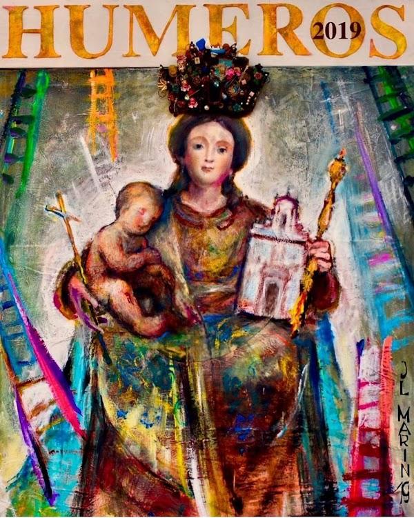 Cartel de la procesión Rosario de Humeros de Sevilla