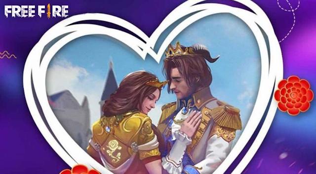 akun ff spesial valentine