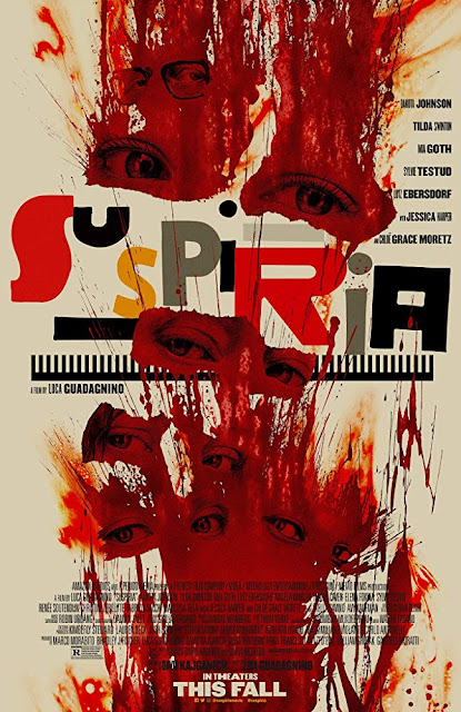 Suspiria 2018 horror movie poster Luca Guadagnino