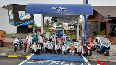 Komunitas Motor Listrik Pertama Hadir di Manado