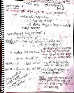 রসায়ন ১ম পত্র উদ্ভাস ক্লাসের নোট মৌলের পর্যায়বৃত্ত ধর্ম |উদ্ভাস ক্লাসের নোট C-01 (মৌলের পর্যায়বৃত্ত ধর্ম) pdf Download
