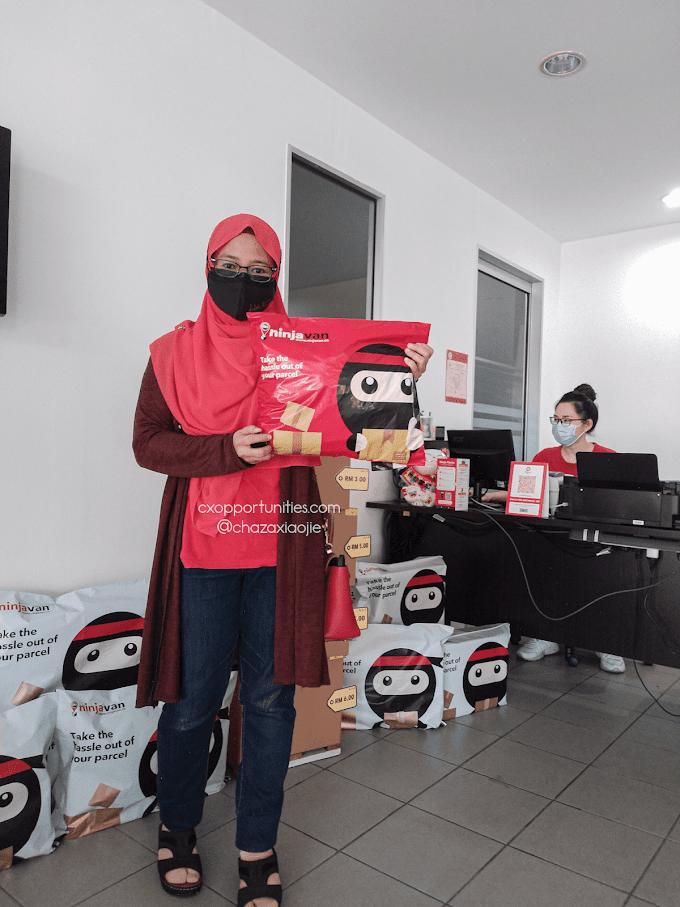 Cara Pos Barang Guna Ninja Packs Tak Payah Beratur Lama Di Kaunter