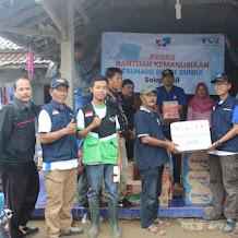 Solopeduli Distribusikan Bantuan Korban Tsunami di Pandeglang Banten