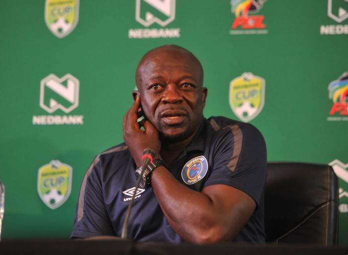 SuperSport United head coach Kaitano Tembo
